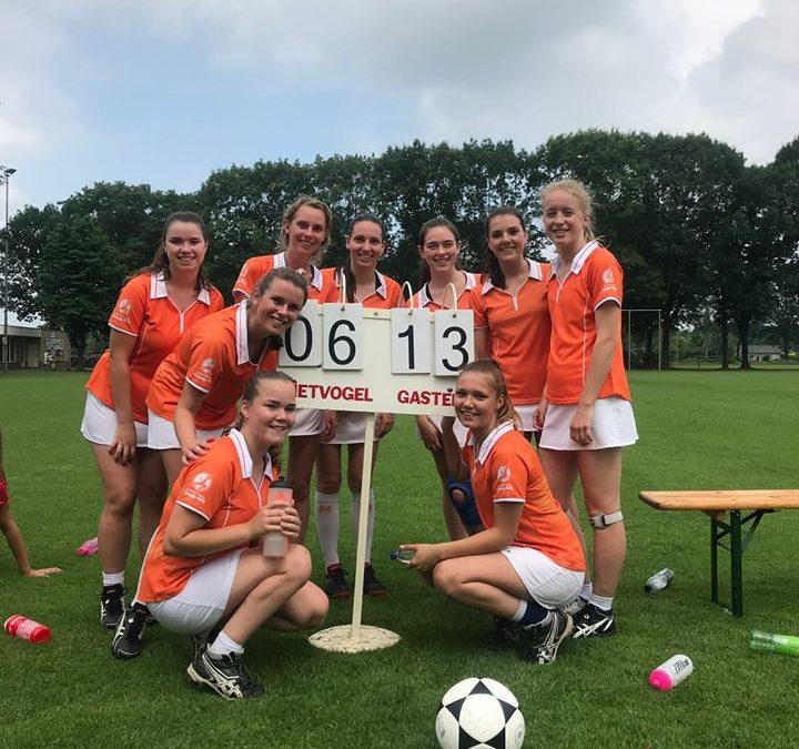 Oranje-Wit 4 kampioen!