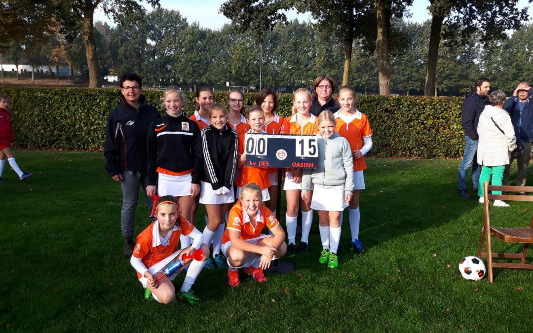 Oranje-Wit D1 ongeslagen kampioen!